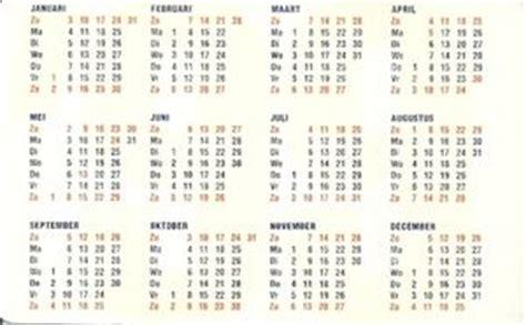 Set Prangko Nederland Tahun 1999 kalender saku ing bank belanda banks col nl 1999 bank 001