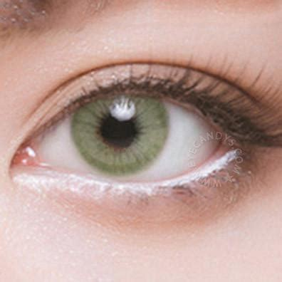 buy eyecandys glossy green colored contacts | eyecandys