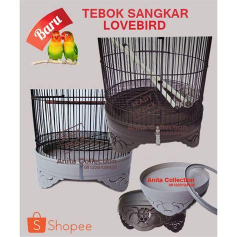 Kaos Pria Hitam Distro Burung tebok sangkar lovebird pvc shopee indonesia