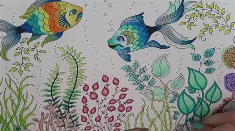 secret garden coloring book outfitters secret garden coloring book fish