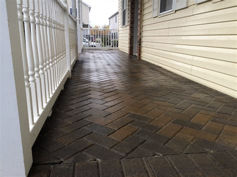 how to seal a paver patio paver seal valley landscaping paver sealant paver
