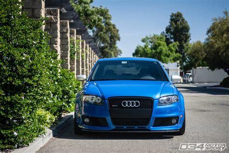 Audi Rs4 B7 by Arturo S Scintillating Sprint Blue B7 Audi Rs4