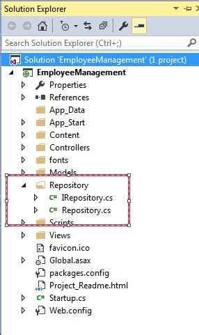 repository pattern database first asp net mvc code first approach with repository pattern