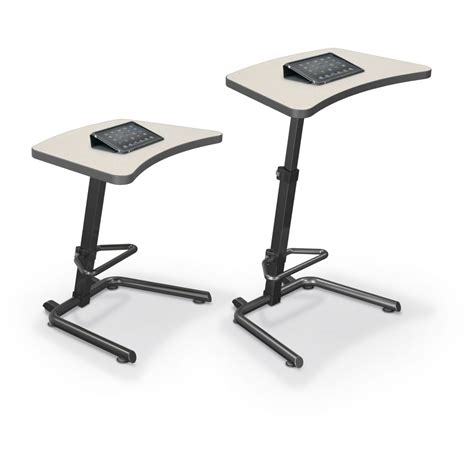 Sit And Stand Desks Up Rite Student Height Adjustable Sit And Stand Desk Mooreco Inc Best Rite Balt Sit