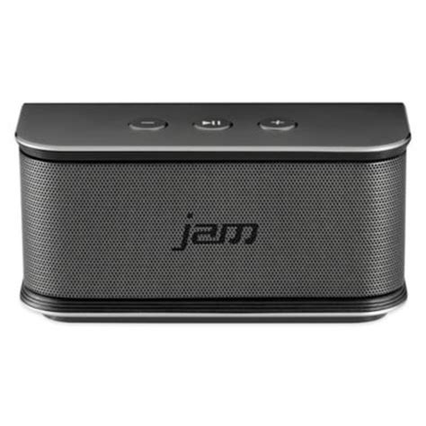 bed bath and beyond speakers buy jam 174 replay wireless bluetooth 174 speaker in blue from