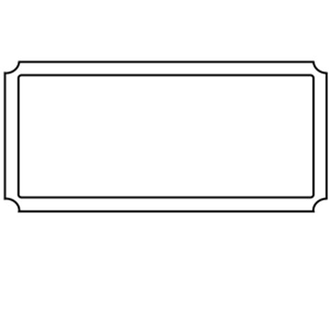 blank ticket stub template blank ticket stub pictures to pin on pinsdaddy
