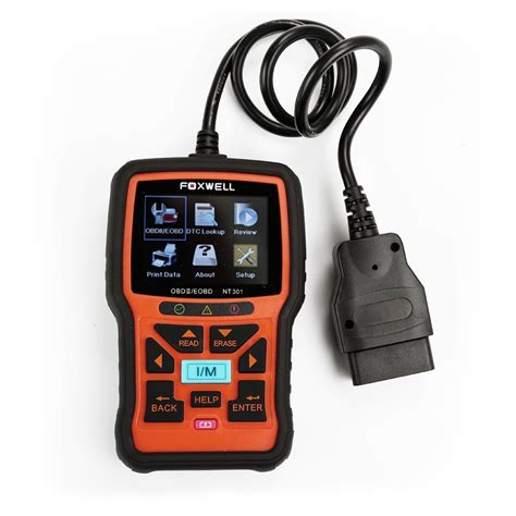 uk ship  tax original foxwell nt hand held  obdiieobd code reader