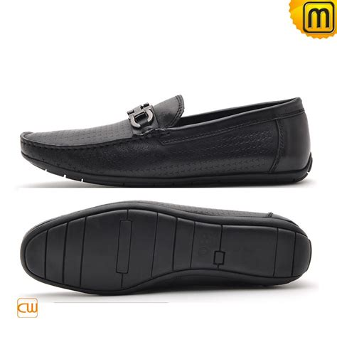 driver loafers mens black leather driving loafers cw712395