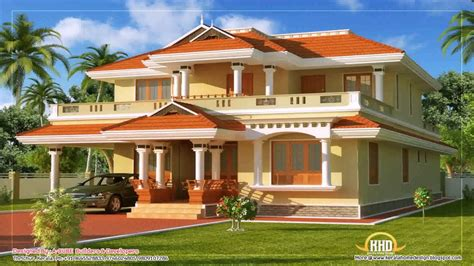 kerala home design duplex kerala style duplex house plans youtube