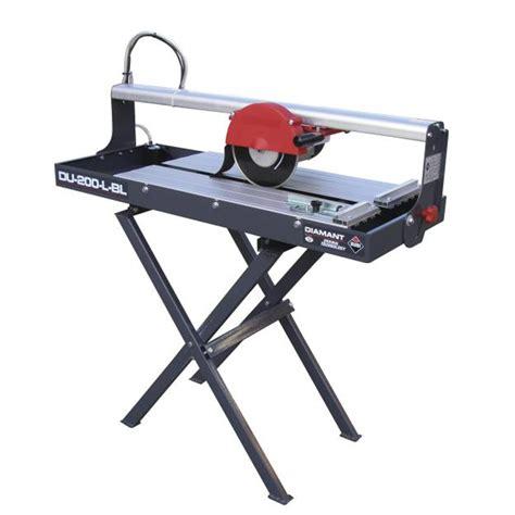 tile saw bench rubi du 200 l bridge wet saw stand 110v 25989k 600mm cut