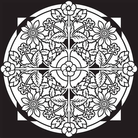 stained glass mandalas an educational coloring book books best 25 dover coloring pages ideas on