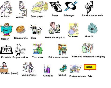 theme definition en francais vocabulaire les achats