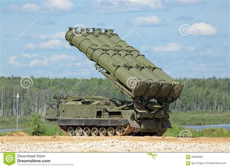 Russia Army S 300 Missile Launching Vehicle Sa 10 Grumble Radar s 300 missile editorial stock photo image 59669593