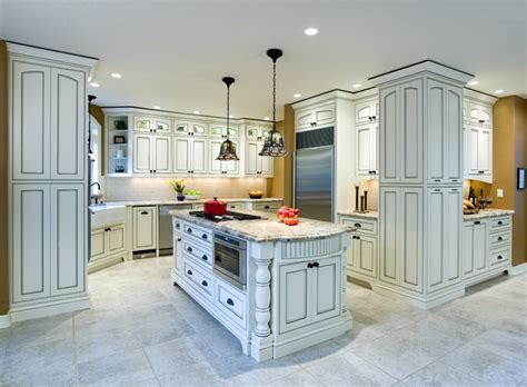 Picone And Fireplace by Warren Kitchen Traditional Kitchen Portland By