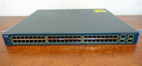 Switch Hub 48 Port cisco ws c3560 48ps s catalyst 3560 1u 48 port 10 100 poe