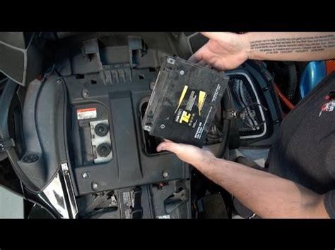 rt can am spyder changing battery 2010 12 spyder tv