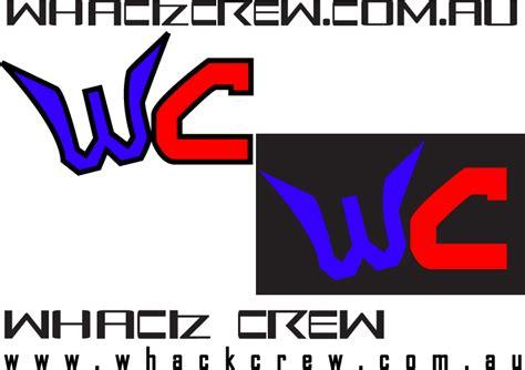 Custom Font Nameset Villareal 2006 08 whackcrew logo and font by muzz dogg on deviantart