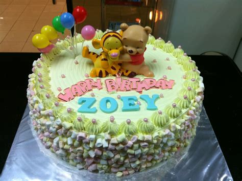 haven bakery zoey baby pooh birthday cake