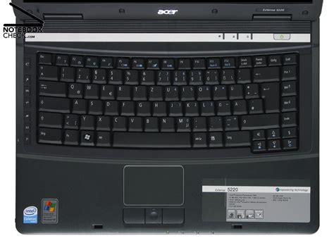 Keyboard Acer Extensa 4630z review acer extensa 5220 notebook notebookcheck net reviews