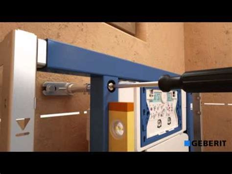 Inbouwtoilet Frame by Installatievideo Geberit Duofix Wand Wc Element Up320