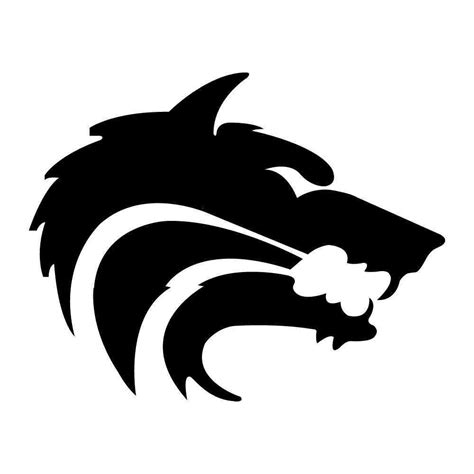 wolf stencil stencils pinterest wolf stencil