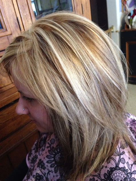 hairstyles with three colors blonde hair color with foils