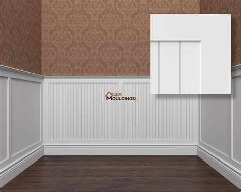 beadboard wainscot wall panels wainscoting raised recessed flat