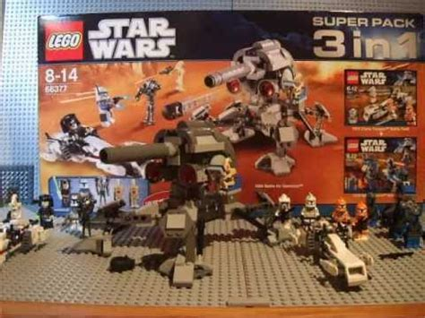 Backpack 3in1 Dk lego wars superpack 3in1 66377 review