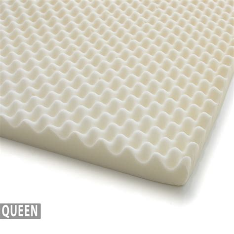 egg crate for bed 2 egg crate ventilated memory foam mattress topper queen milliard bedding