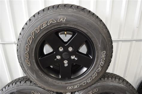 Jeep Oem Wheels Jeep Wrangler Black Wheels Oem Oem Factory Wheels Rims
