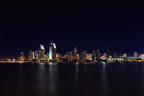 Lights San Diego by San Diego Lights Photograph By Brook Burling