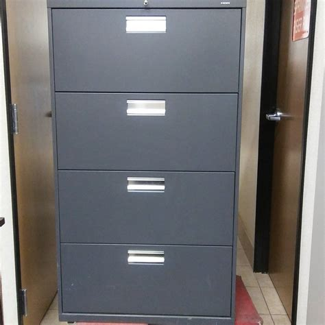 4 Drawer Lateral File Cabinet Used Hon 4 Drawer Lateral File Cabinet Used