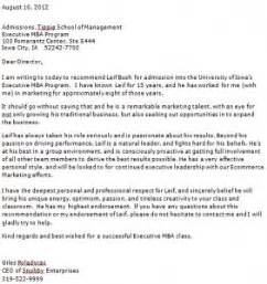 Letter Of Recommendation Uta masters program masters program letter of recommendation