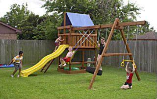 jacks backyard jacks backyard do it yourself wood fort and swing set