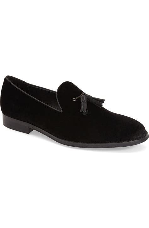 mens black suede tassel loafers handmade black suede tassels loafer mens black casual