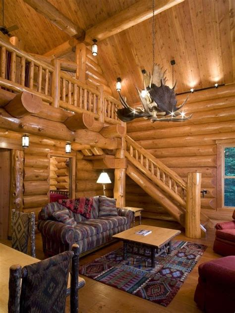 log home lighting design 18 cozy and rustic cabin living room design ideas style