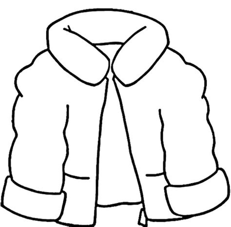 printable coloring page of a jacket quot the jacket i wear in the snow quot winter coat coloring page