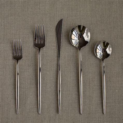 modern silverware cutipol moon cutlery 5 pcs modern flatware by horne