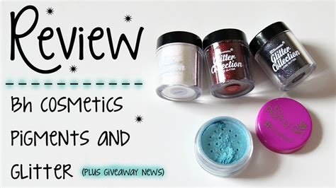 Review Mojo Cosmetics 2 by Review Bh Cosmetics Pigments Glitters