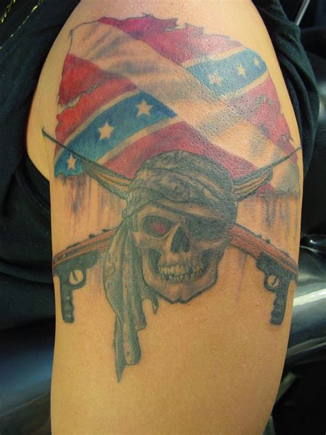 rebel flag tattoos rebel flag tattoos designs ideas and meaning tattoos