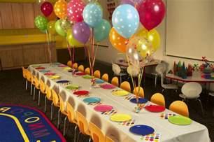 Table Centerpieces For 50th Birthday Party by Wunderbare Tischdeko Zum Kindergeburtstag Archzine Net