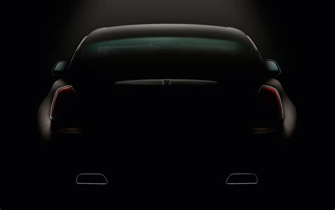 teaser car rolls royce releases second wraith teaser news car and