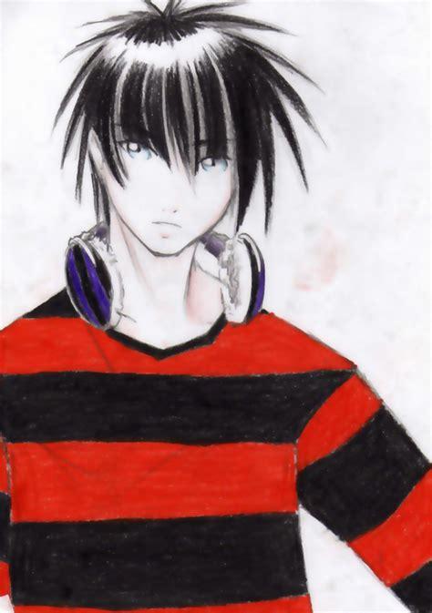 emo anime hairstyles emo anime boy emo hairstyles ideas