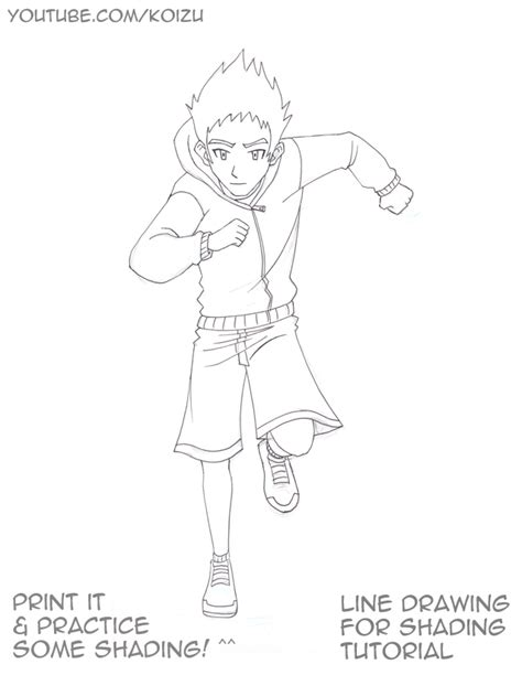 line art shading tutorial line drawing for shading tutorial by mikekoizumi on deviantart