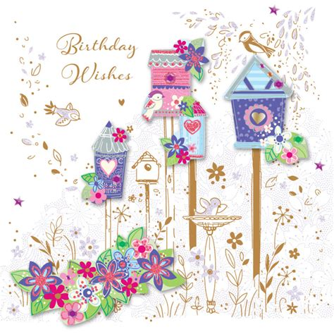 how to make a pretty birthday card pretty birds birthday wishes greeting card cards