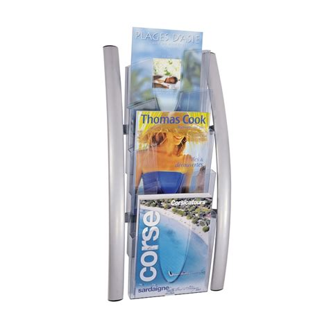 Wall Mounted Magazine Rack Uk by Magazine Racks Wall Mounted Literature Displays