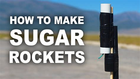 diy rocket motor make your own rocket engine using sugar and litter