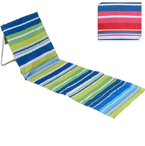Folding Chair Mat by New Portable Folding Lounger Mat Outdoor Garden