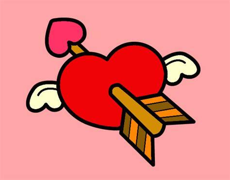 imagenes de corazones flechados por cupido imagenes de dibujos de corazones flechados imagui