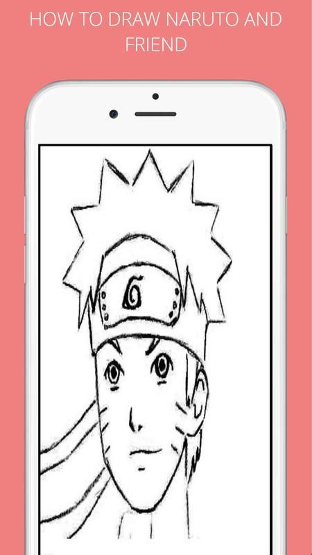 draw naruto  friends  android apk